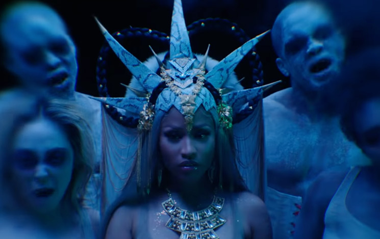 "Nicki Minaj Gets Dark for ""Hard White"" Video"