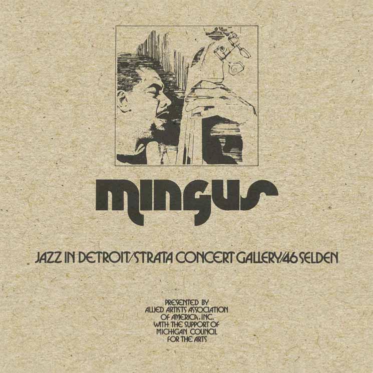 Charles Mingus Jazz In Detroit / Strata Concert Gallery / 46 Selden