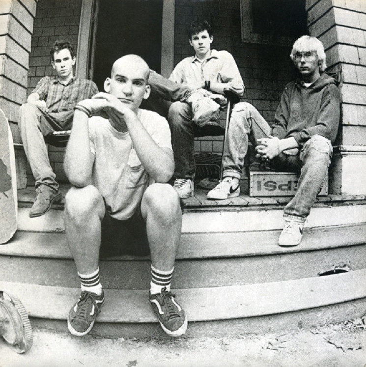 Minor Threat Recreate Iconic Porch Photo