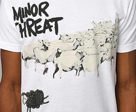 Minor Threat Shirts At Urban Outfitters Actually Legit