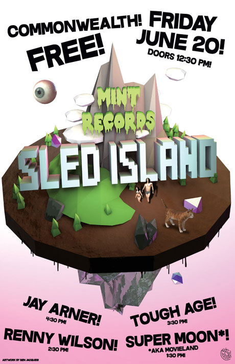 Mint Records Lines Up Free Sled Island Day Party