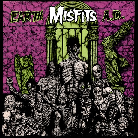 Various Artists 'Earth A.D.: The CVLT Nation Sessions' (Misfits tribute LP)