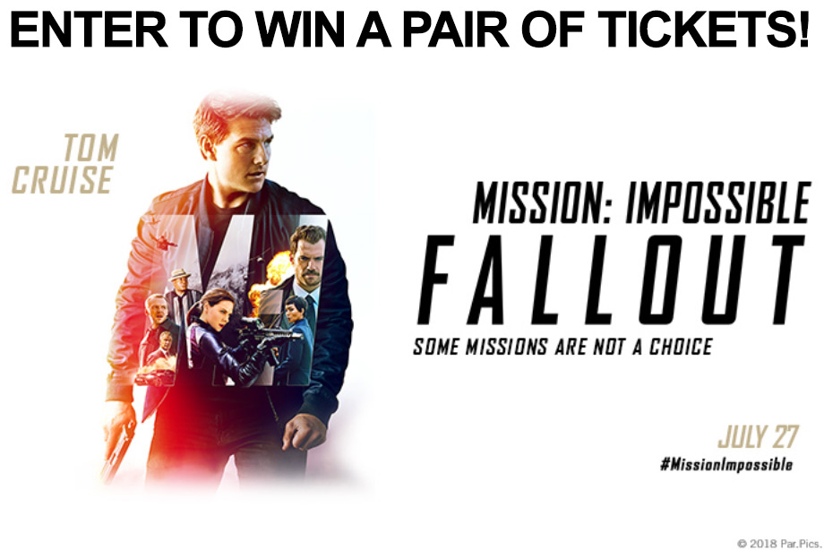 'Mission: Impossible – Fallout' - Win a pair of tickets!