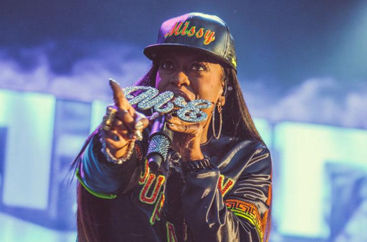 """Missy Elliott """"WTF"""" (ft. Pharrell) (snippet)"""