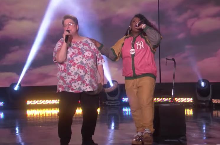 Missy Elliott Performs 'Work It' on 'Ellen' with Her 'Funky White Sister'