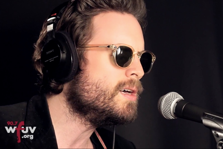 Father John Misty Live on WFUV (video)