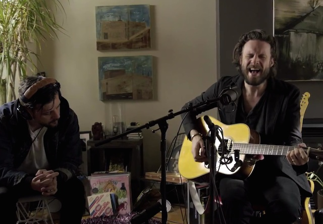 "Father John Misty ""Bird on the Wire"" (Leonard Cohen cover) (live on 'Strombo')"