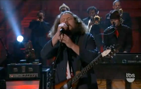 My Morning Jacket 'Holdin' on to Black Metal' (live on 'Conan')