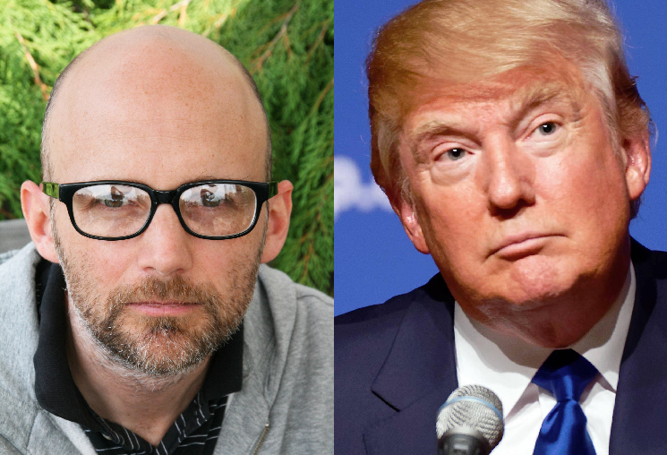 Moby Says He Rubbed His Bare Penis on Donald Trump at a Party