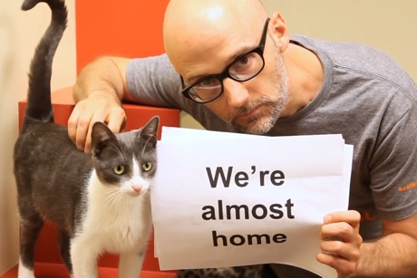 Moby 'Almost Home' (lyric video)