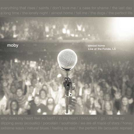 Moby to Release New 'Almost Home' Live Package