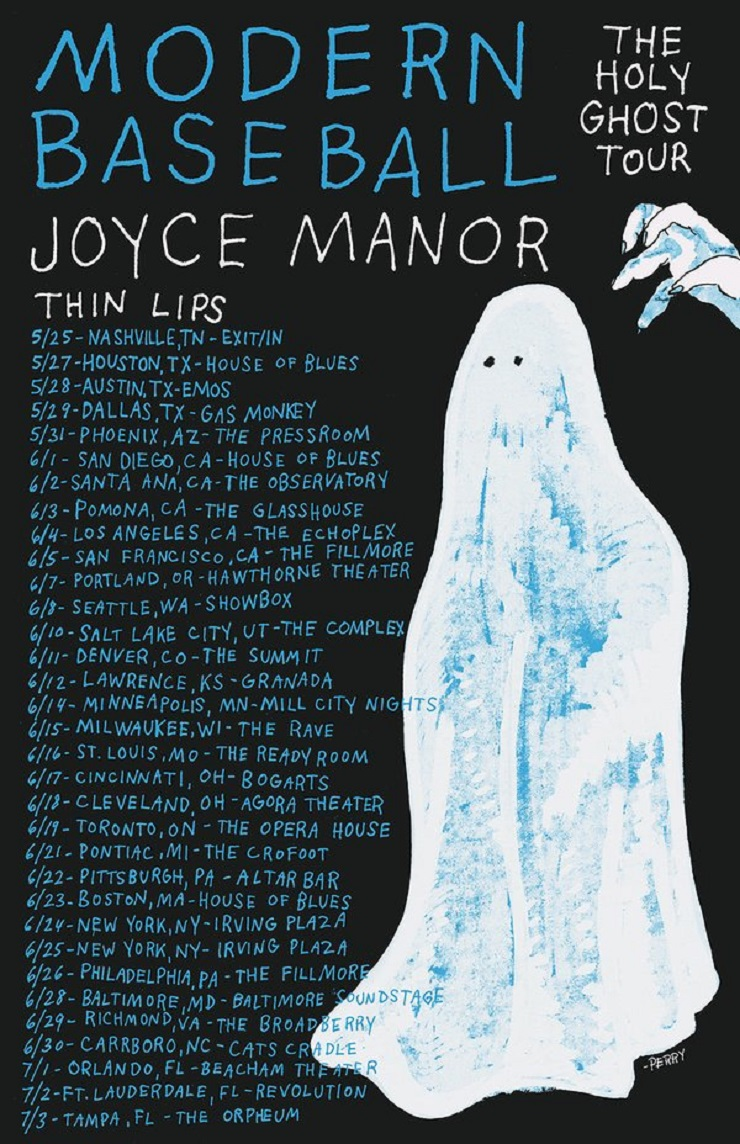 Modern Baseball Announce 'Holy Ghost' Tour with Joyce Manor, Thin Lips