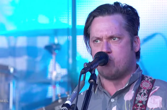 Modest Mouse 'The Ground Walks, With Time in a Box' / 'Wicked Campaign' (live on 'Kimmel')