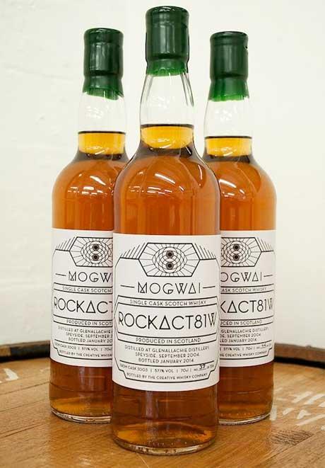 Mogwai Get Their Own Whisky