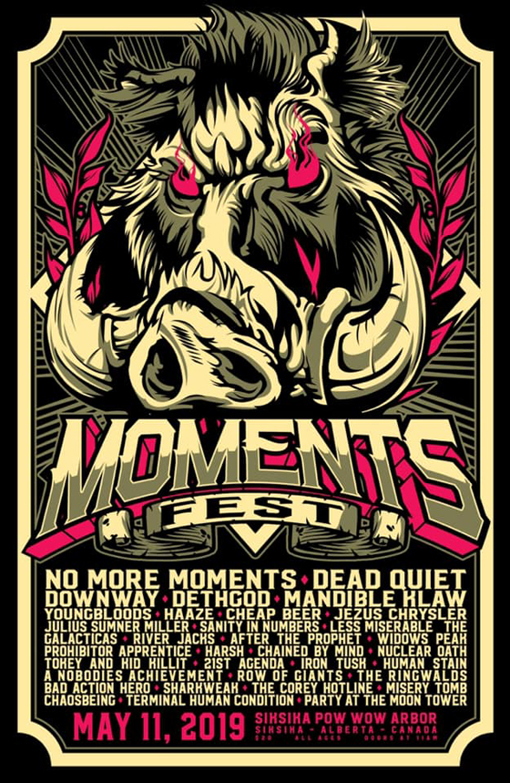 Alberta's Moments Fest Shares 2019 Lineup