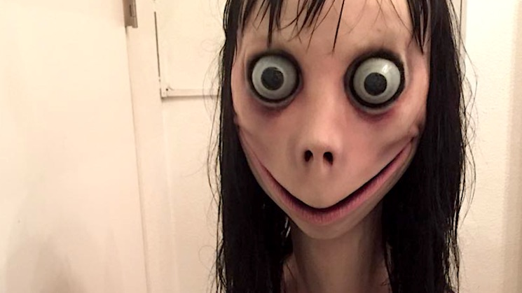Internet hoax the Momo challenge to become a horror movie