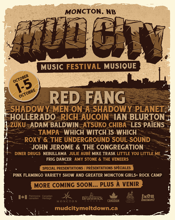 Moncton's Mud City Music Festival Adds Red Fang, Rich Aucoin to 2019 Lineup