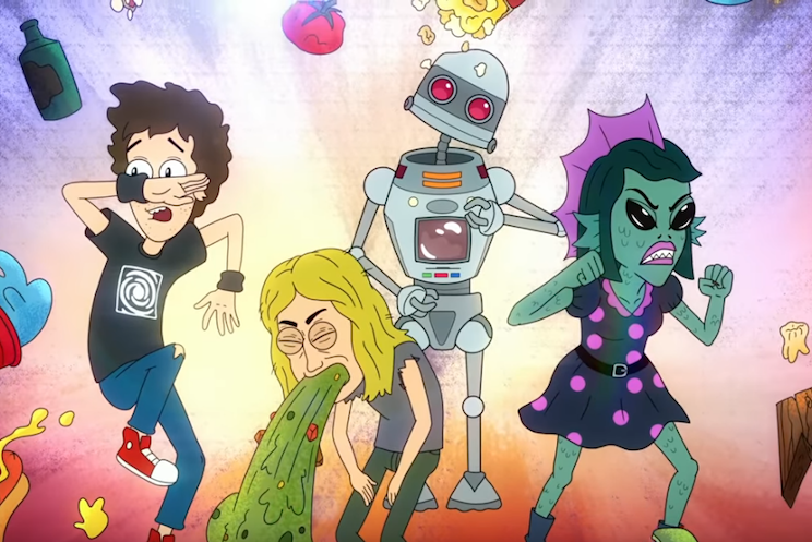 Fall Out Boy Launch Animated Series 'Mondo Trasho 3042'