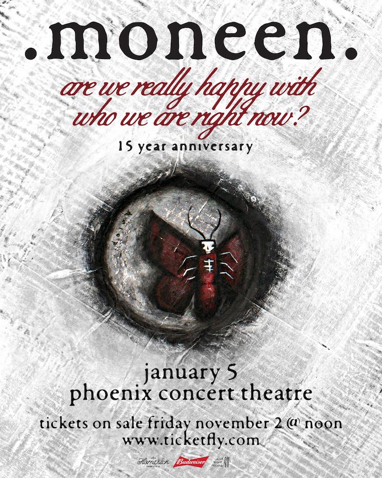 Moneen Plot 15th Anniversary Show for 'Are We Really Happy with Who We Are Right Now?'