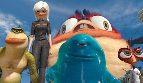Monsters Vs. Aliens Rob Letterman and Conrad Vernon