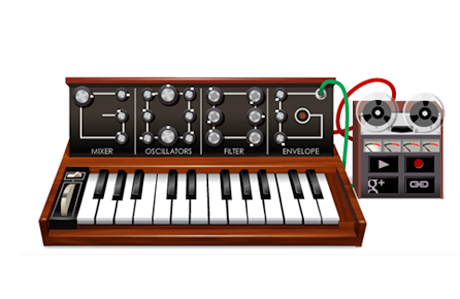 Google Pays Tribute to Robert Moog with Interactive Synthesizer