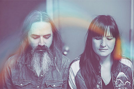 "Moon Duo ""High over Blue"""