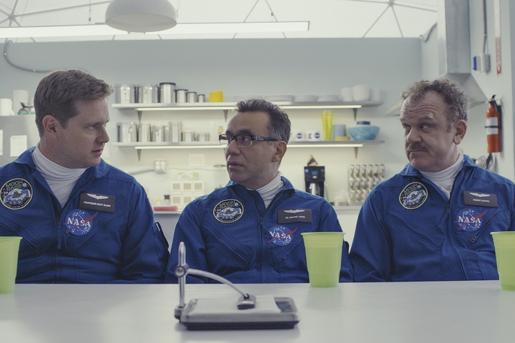 Fred Armisen, Tim Heidecker and John C. Reilly's 'Moonbase 8' Feels Very Down-to-Earth