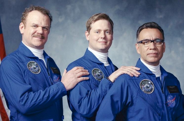 Fred Armisen, Tim Heidecker and John C. Reilly Are a Trio of Astronauts in 'Moonbase 8'