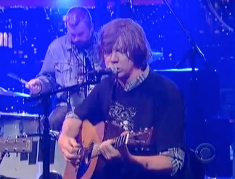 "Thurston Moore ""Benediction"" (live on 'Letterman')"