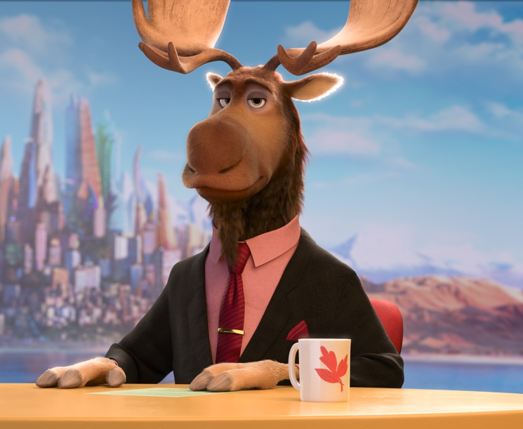 Peter Mansbridge Transformed into 'Peter Moosebridge' for Disney's 'Zootopia'