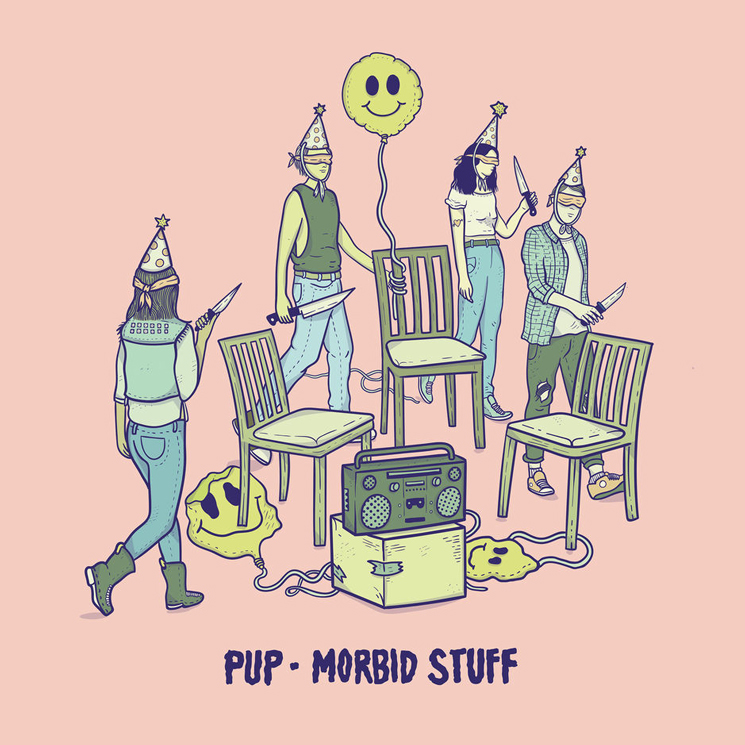 "PUP Detail 'Morbid Stuff,' Share New Song ""Kids"""