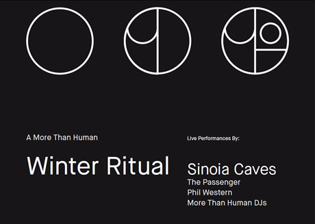"Vancouver's More Than Human Brings Out Sinoia Caves, the Passenger, Phil Western for Its ""Winter Ritual"""