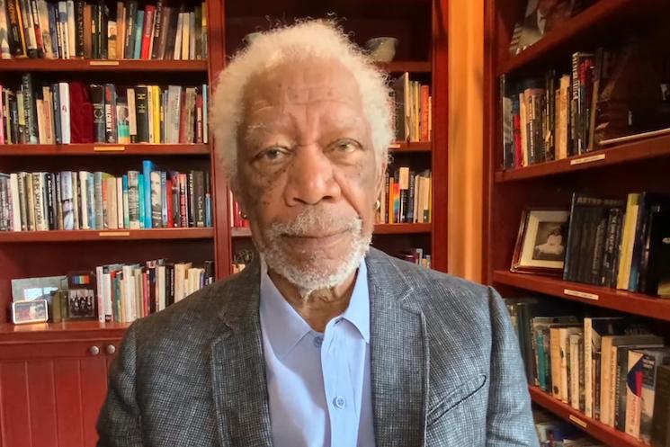 Morgan Freeman Stars in New COVID-19 Vaccine PSA