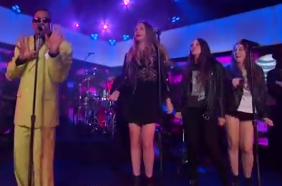 "Morris Day and the HAIM ""Jungle Love"" (live on 'Kimmel')"