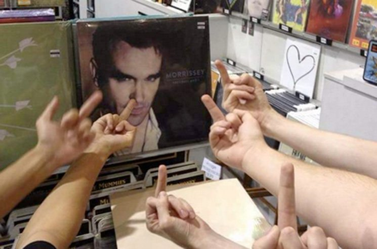 Morrissey Tried to Partake in Blackout Tuesday and Twitter Was Pissed