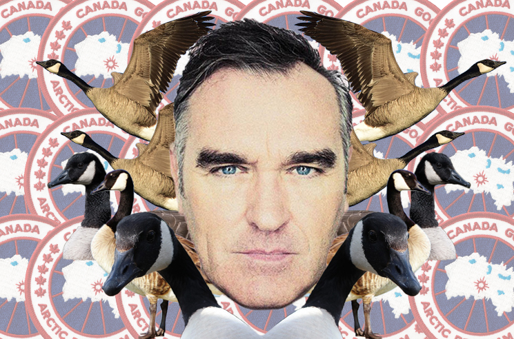 Morrissey Launches Protest Against Canada Goose Ahead of Canadian Tour