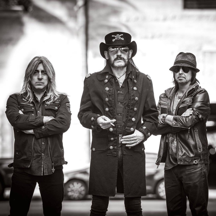 Motörhead Cancel Show After Guitarist Phil Campbell Hospitalized