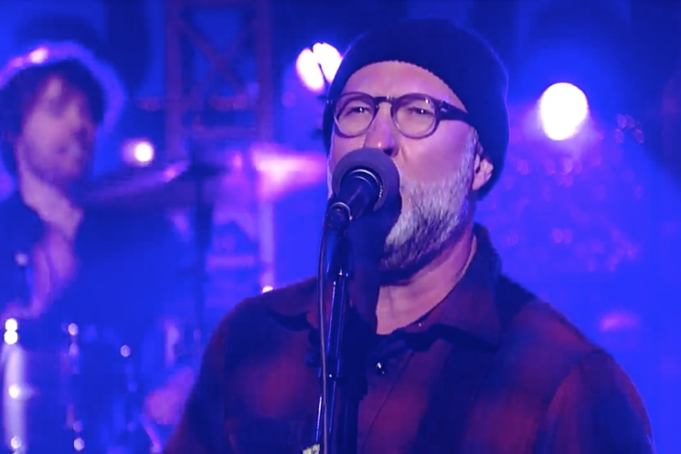 """Bob Mould """"Tomorrow Morning"""" / """"Kid with a Crooked Face"""" (live on 'Letterman')"""