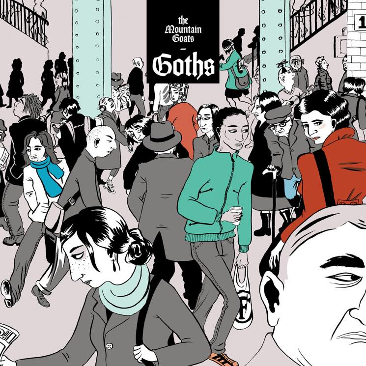 ​The Mountain Goats Go Totally Goth for New Album