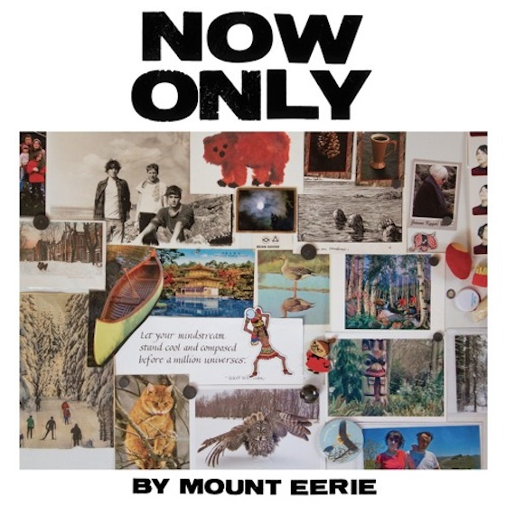 "Mount Eerie Announces 'Now Only' LP, Shares ""Distortion"""