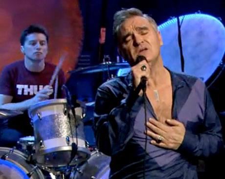 "Morrissey ""To Give (The Reason I Live)"" / ""You Have Killed Me"" (live on 'Fallon')"