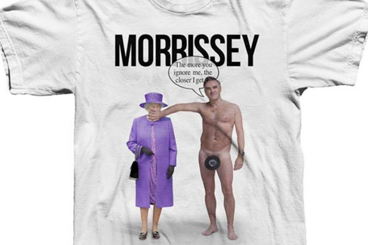 Morrissey Reappropriates Fan Art to Make World's Ugliest T-Shirt