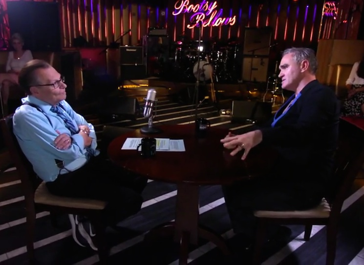 Morrissey Talks Sexual Assault, Cancer Scare, Music Industry with Larry King