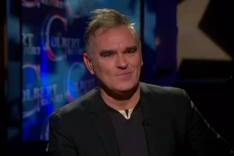 "Morrissey ""People Are the Same Everywhere"" (live on 'Colbert')"
