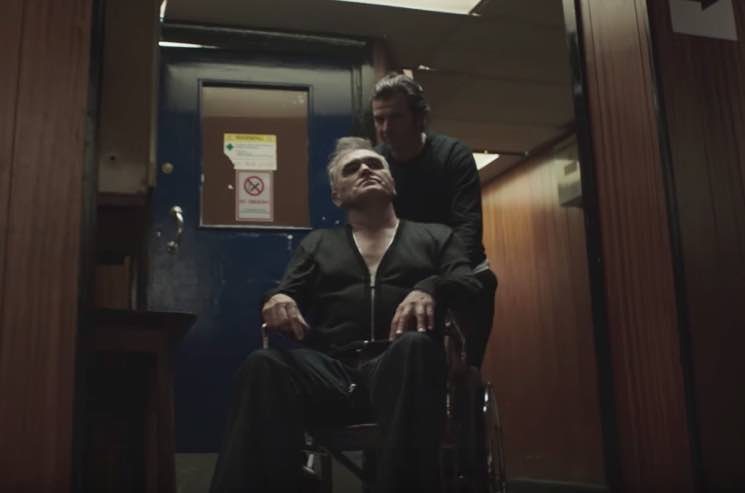 "Morrissey ""Spent the Day in Bed"" (video)"