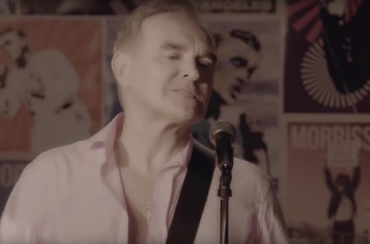 "​Morrissey Unveils Video for His Cover of the Pretenders' ""Back on the Chain Gang"""