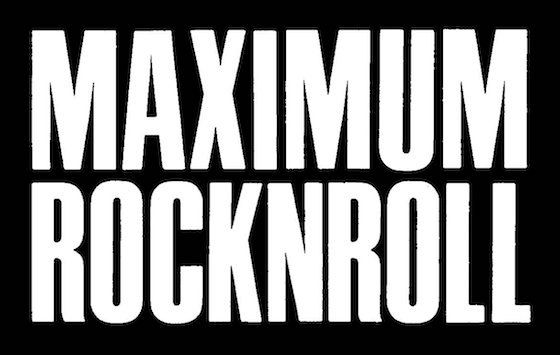 'Maximum Rocknroll' Is Creating a Comprehensive (and Free) Online Archive