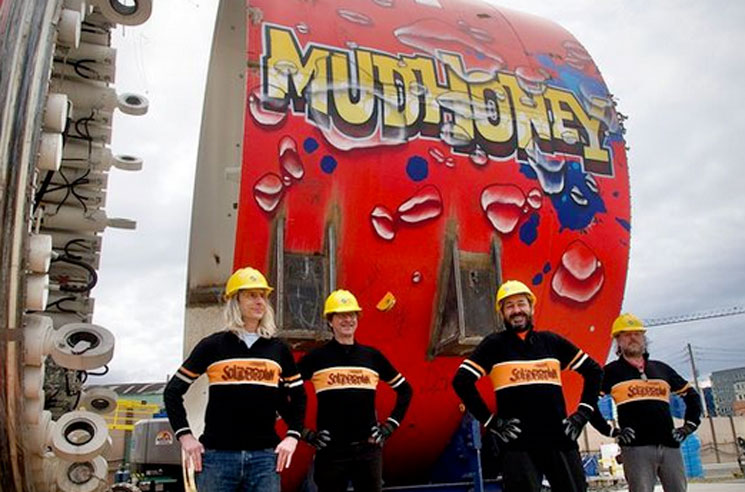 Mudhoney Now Have a Massive Tunnel-Boring Machine Named After Them