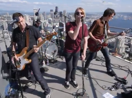 Mudhoney 'Mudhoney from the Space Needle' (live video)