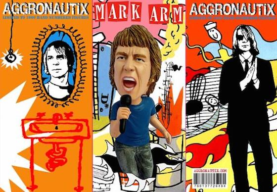 Mudhoney's Mark Arm Immortalized with Throbblehead